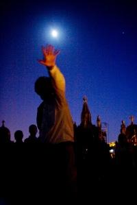 Visita nocturna al cementerio de Palma.