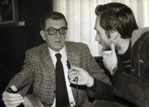 Entrevistando a Louis Pauwells.
