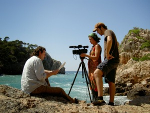 Filmación de 'Mallorca endins'.